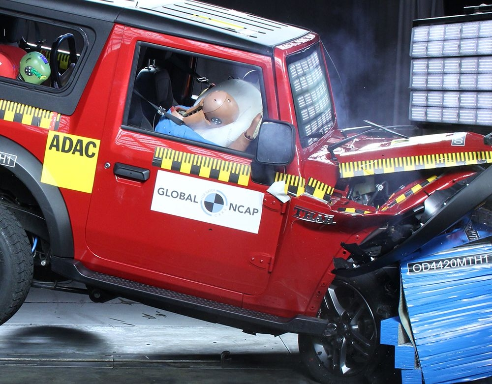 2020 Mahindra Thar Enters The List of Top 10 Safest Cars in India