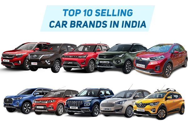 Top 10 Best Selling Car Brands in India