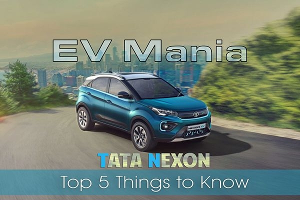 Tata Nexon EV - Top 5 Things To Know