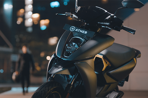 Ather 450X Electric Scooter Available Now in 16 Other Cities