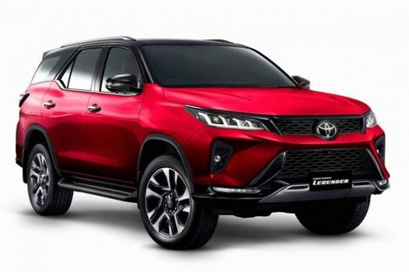 Upcoming Toyota Fortuner
