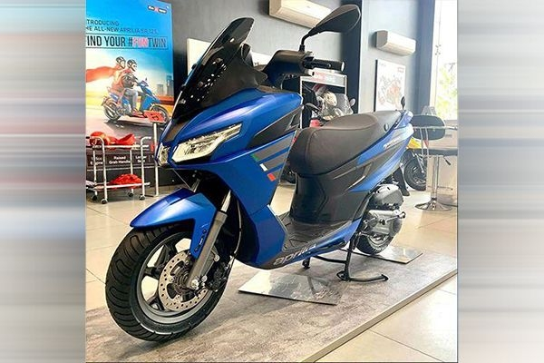 Aprilia SXR 160 Spotted at a Dealership; Launch Imminent