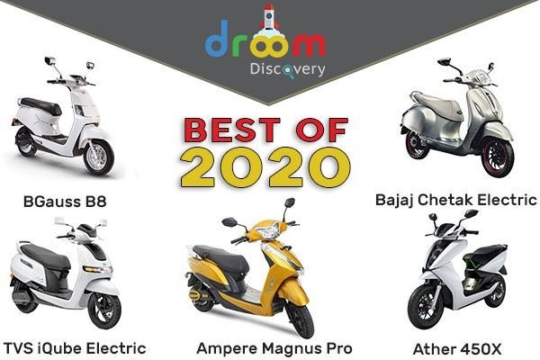 Top 5 Electric Scooters Launched in 2020