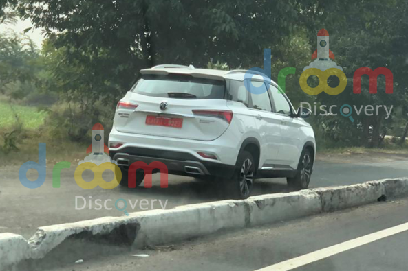 2021 MG Hector facelift Back