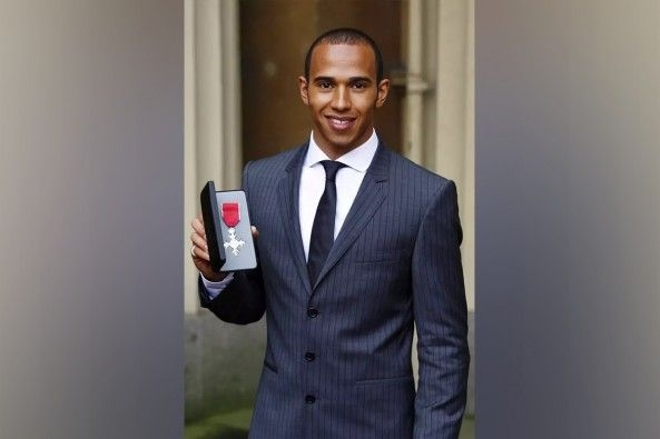 Lewis Hamilton Awarded Knighthood