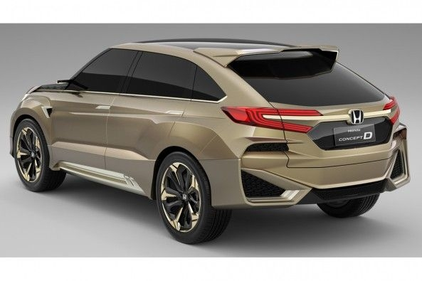 Honda new compact SUV Back