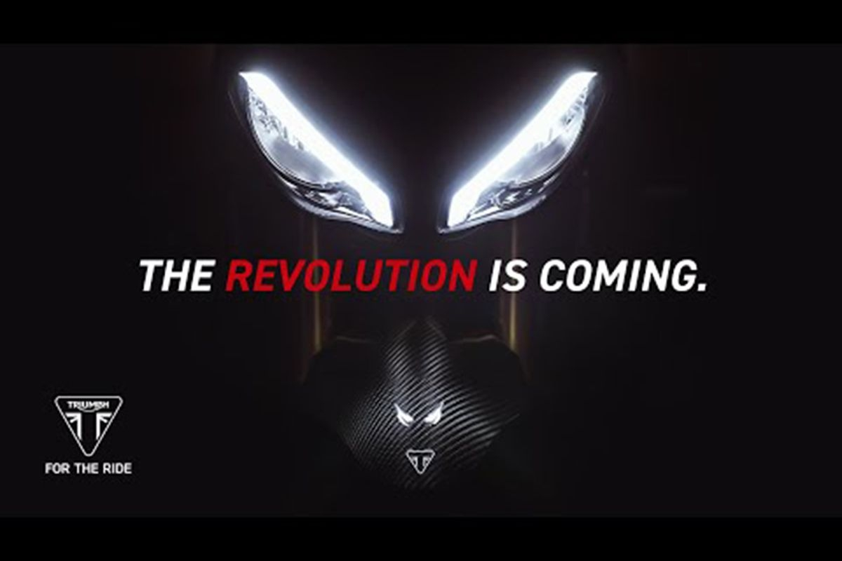 2021 Triumph Speed Triple RS 1200 Officially Teased