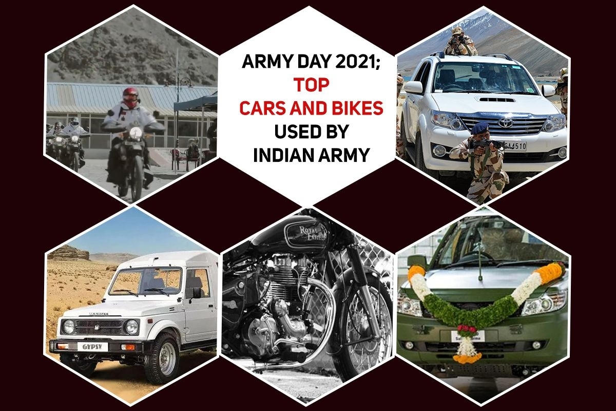 Army Day 2021: Top Cars and Bikes Used by Indian Army