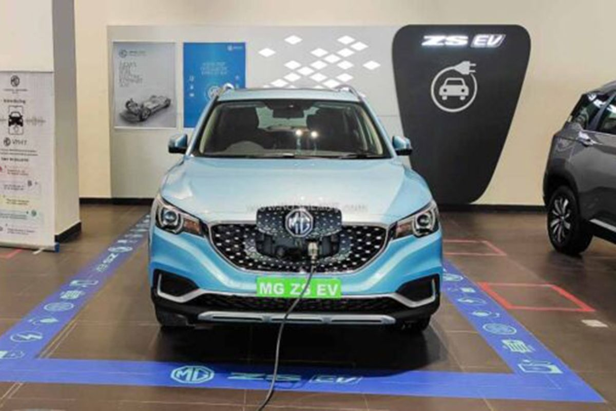 MG Motor to Launch an Electric Car With a Range of 500 kms