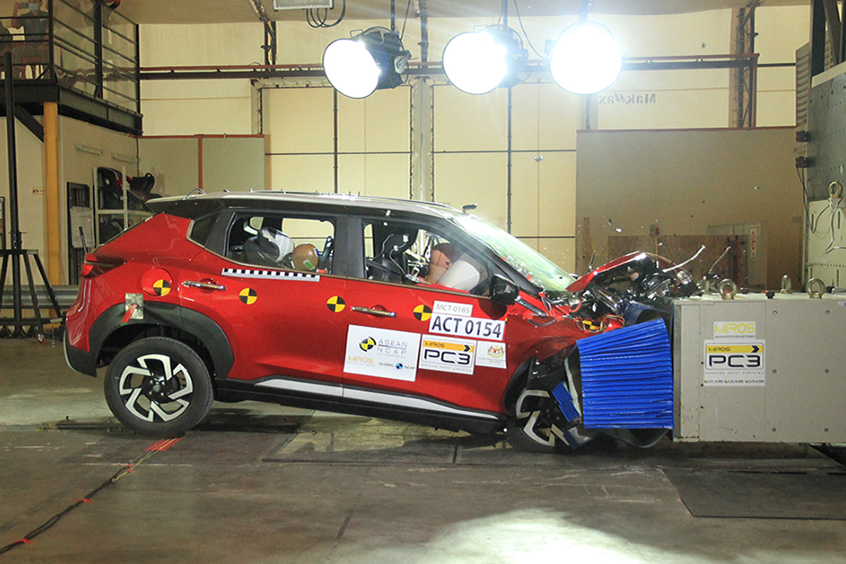 Nissan Magnite Scores a 4-Star Safety Rating in ASEAN NCAP