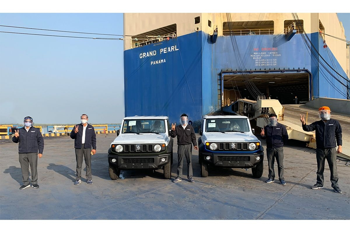 Maruti Suzuki Jimny Production and Export Begins from India
