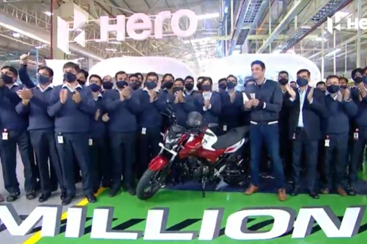 Hero MotoCorp Rolls Out its 100 Millionth Two-Wheeler