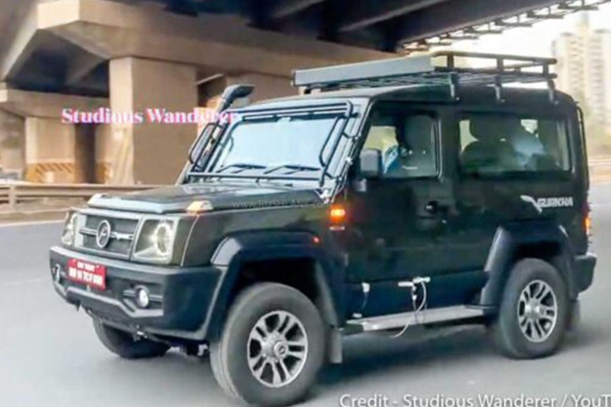 Force Gurkha Production Model Spied; Interior Details Revealed