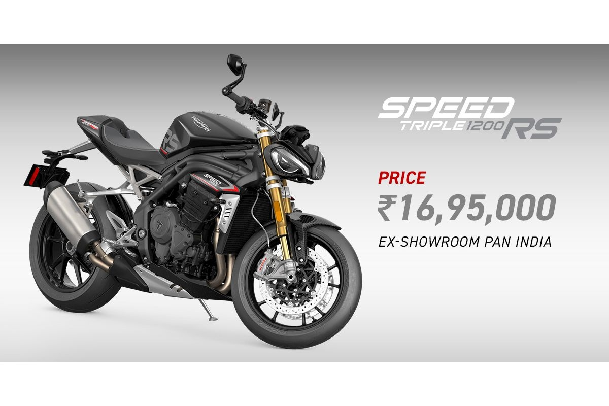 Triumph Triple Street 1200 RS Launched at Rs 16.95 Lakhs