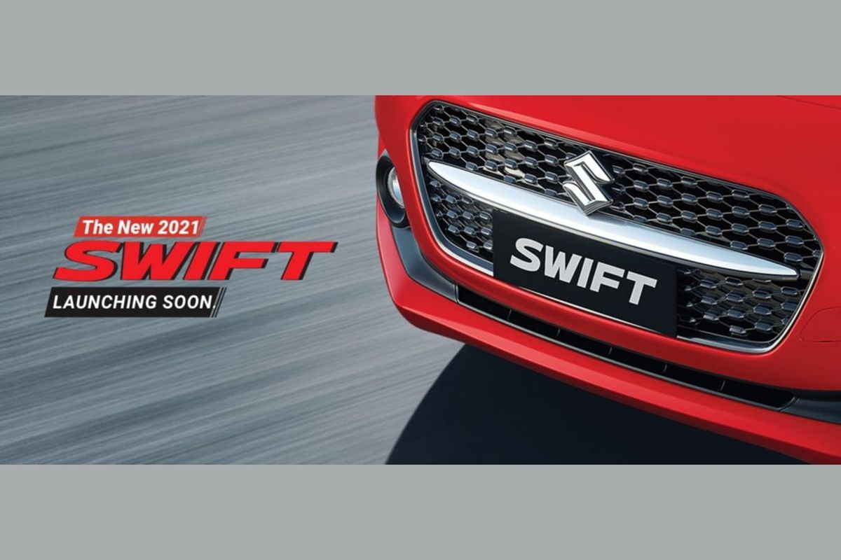 2021 Maruti Suzuki Swift Facelift Teased; Launch Soon