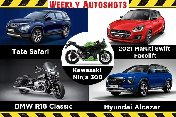 Weekly Auto Shots - Tata Safari, Maruti Suzuki Swift Facelift and BMW R18 Classic Launched