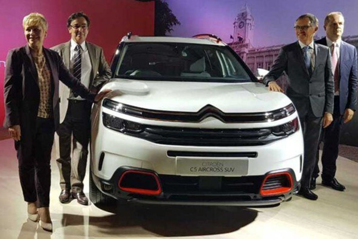 Exclusive: Citroen C5 Aircross India Launch on April 7, 2021