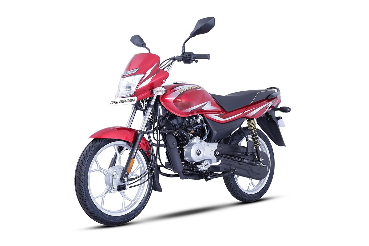 2021 Bajaj Platina 100 Electric Start Launched at Rs 53,920