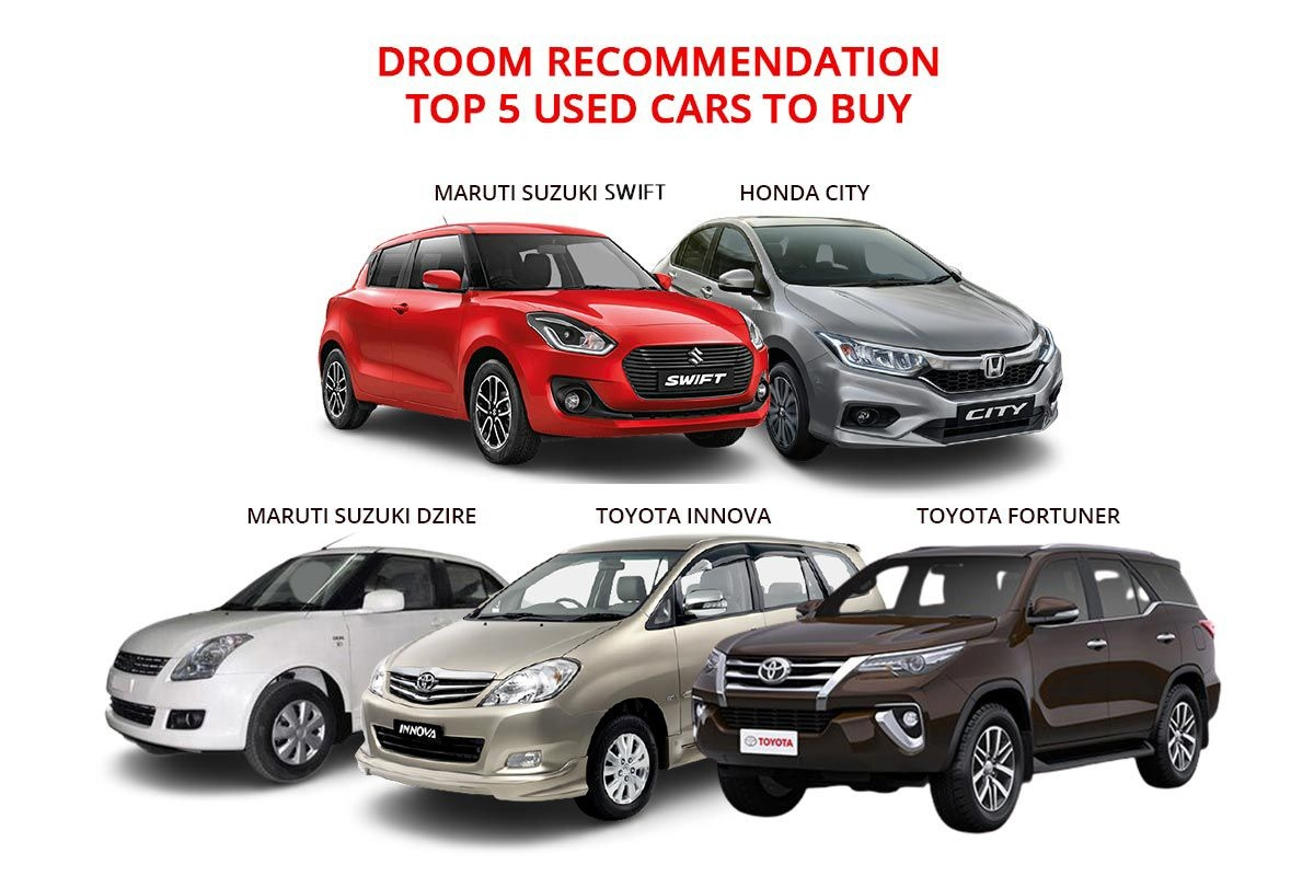 Droom Recommendation: Top 5 Popular Used Cars to Buy