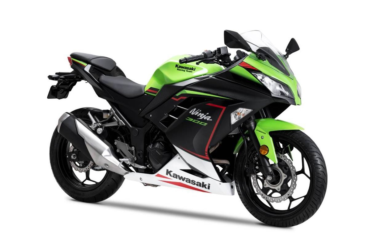 BS6 Kawasaki Ninja 300 Launched at Rs 3.18 Lakhs
