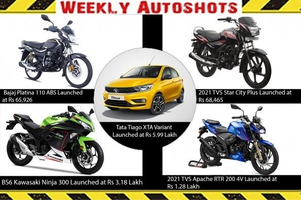 Weekly Auto shots - 06-March-2021