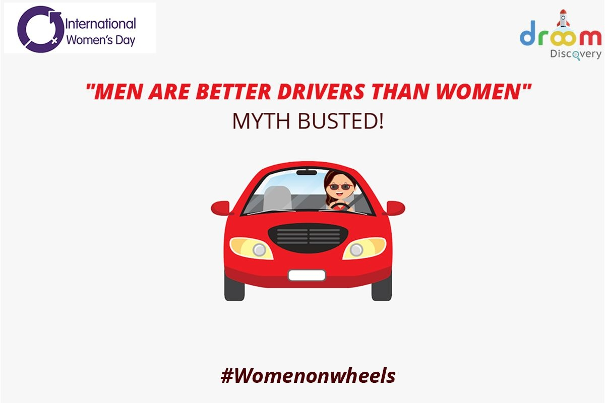 Myth Busted - Men are Better Drivers than Women