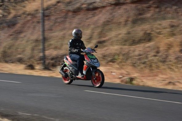 Getting up to 60-80kph is a breeze