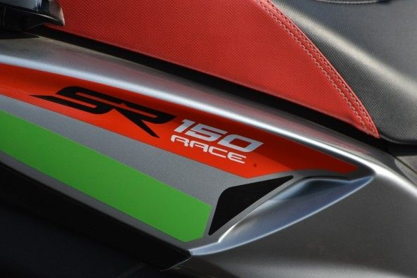 The new graphics on the Race surely add to its sporty appeal