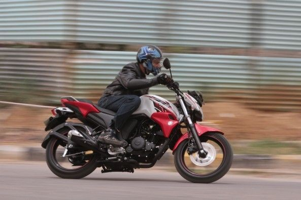 The FZ is one of the best handlers in its segment.