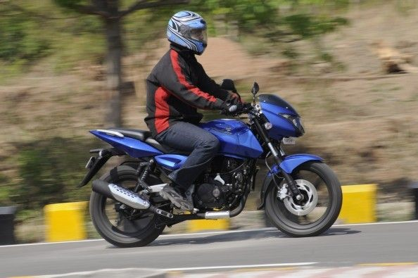 Ride quality is impressive. The bike easily absorbs our pock-marked roads.