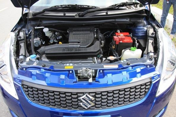 The 1.2-litre aluminium engine is quite a peppy and refined unit.