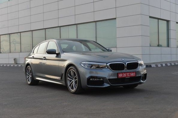 The new 5-series isn't strikingly different than the car it replaces. But it looks a bit more muscular.
