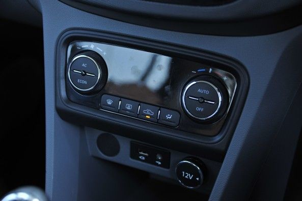 Automatic climate control on the top-end variant.