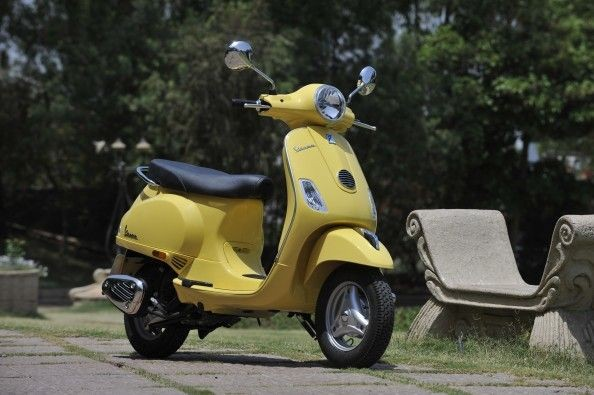 No denying that this is one of the most attractive scooters around.
