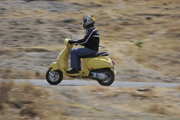 This is quite a peppy scooter. You can hit 60kph in just over 10 seconds.