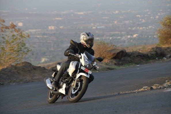 The RTR 180 feels confifent around corners.
