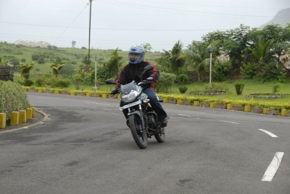 The seat is well padded and adequate for long distance riding.