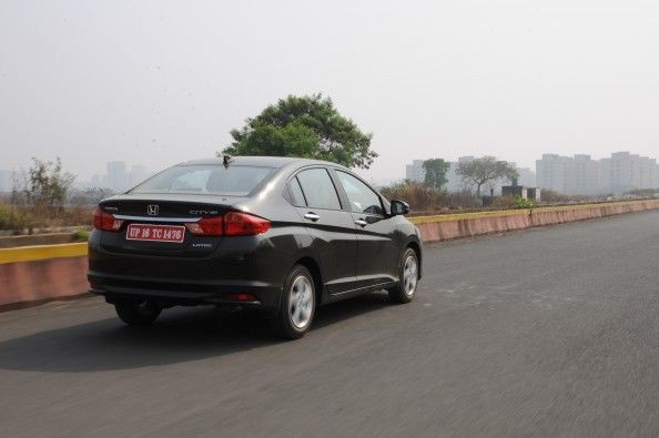 Low-speed ride is a bit stiff and you can feel every ridge and edge on the road.