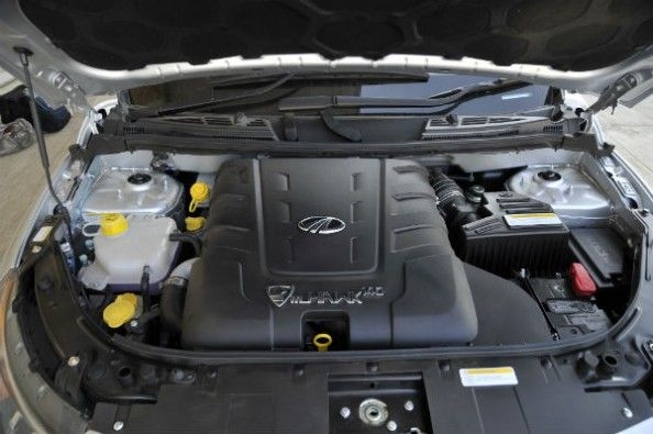 The engine is a 142hp, 2.2-litre diesel.
