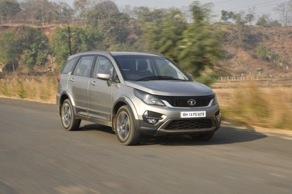 Just like the Aria, the Hexa's ride quality is one of the car's hallmarks.