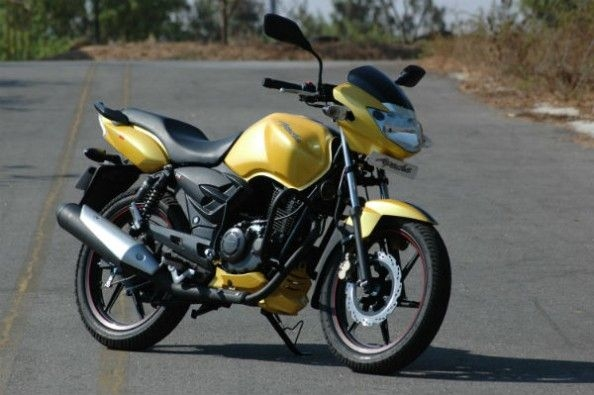 Not a big difference between the RTR 150 and the 160.