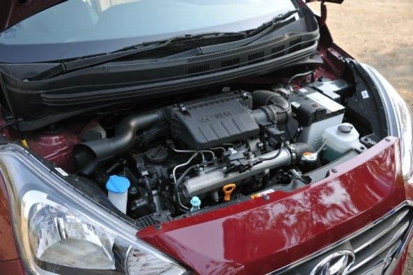 Diesel engine is new and more powerful