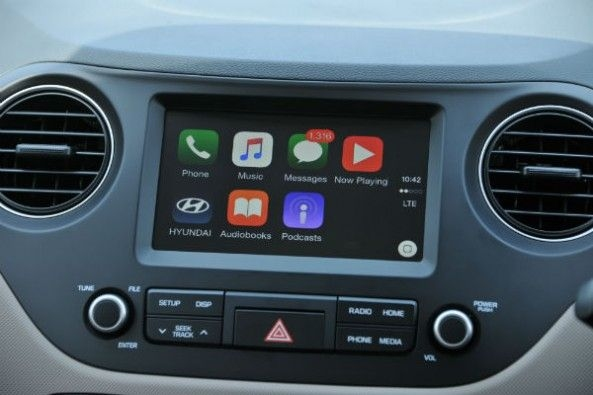 Touchscreen infotainment system is new