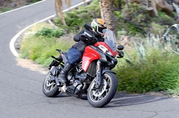 Ducati Multistrada 950 tracking