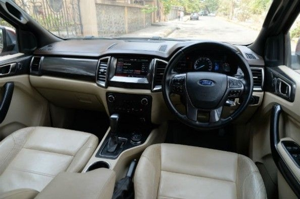 Ford Endeavour cabin