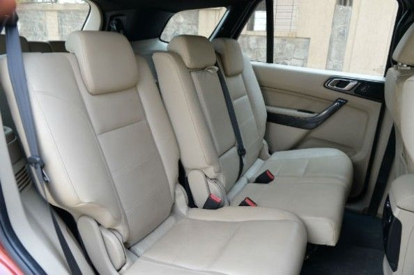Ford Endeavour rear seats