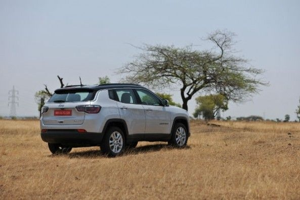 Jeep Compass rear static