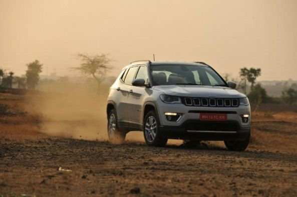 Jeep Compass off-roading