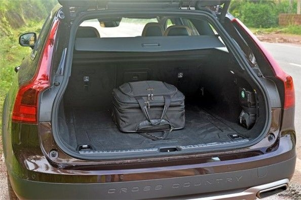 Volvo V90 Cross Country's boot is expandable up to 1526 litres
