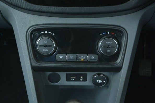 Air condition controls